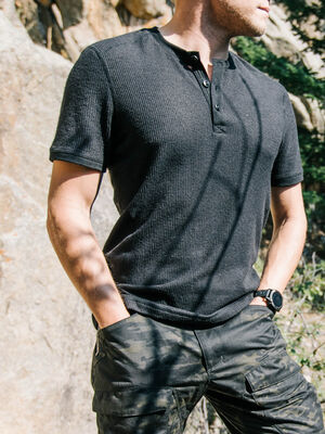 Primer Henley Short Sleeve