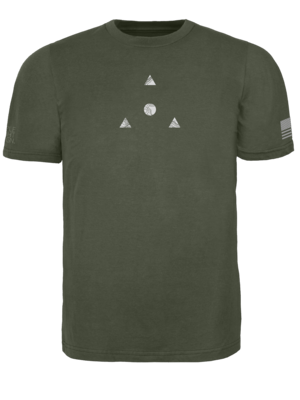 Men's Quest Topo Logo T-Shirt