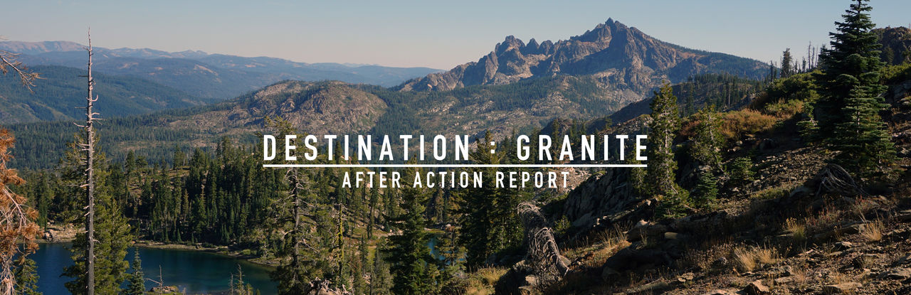 DESTINATION : GRANITE 092016 AAR