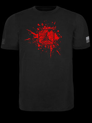 Blood Splatter Logo T-Shirt
