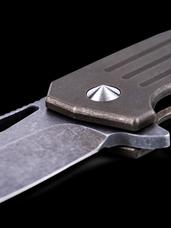 Burke Knives Custom Hitman Stubby TAD Edition