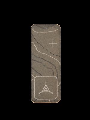 """Titanium Patch 2"""" Vertical"""