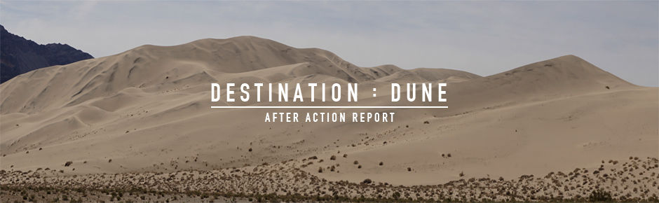 Destination : Dune 042017 AAR