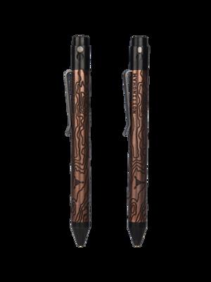 TiButton Pen Right Hand Double Lock TAD Edition