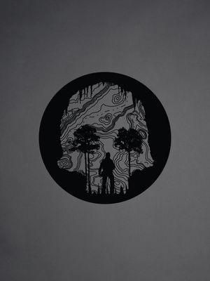 Skull Cave Sticker