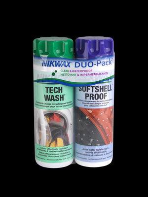 NIKWAX Softshell DUO-Pack