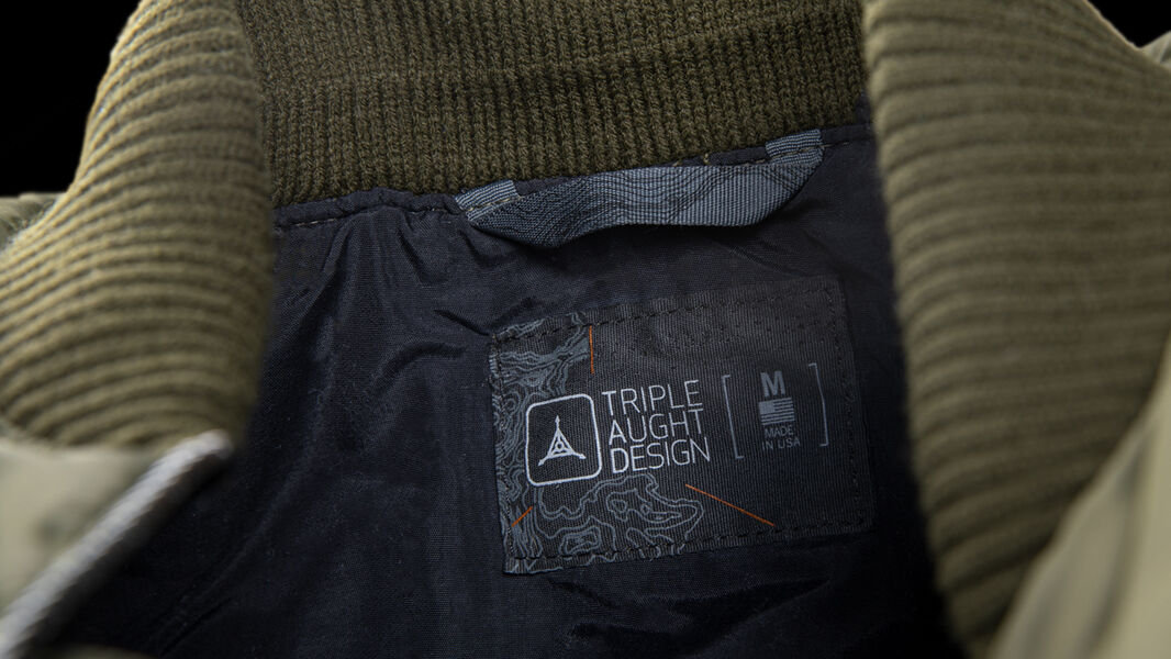 Proudly Cut and Sewn In The USA