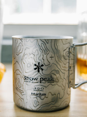Snow Peak Titanium 2 Wall H450 Folding Mug
