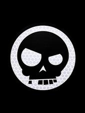 Mean T-Skull SOLAS Sticker