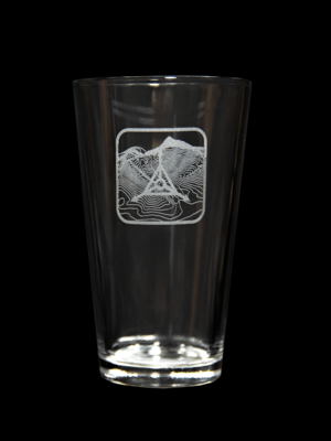 TAD Edition Pint Glass