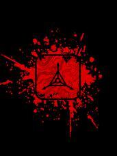 Blood Splatter Logo T-Shirt