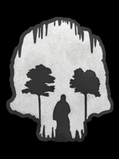 Grille Badge Skull Cave