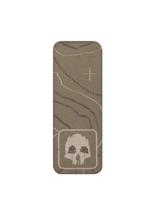 "Titanium Patch 2"" Vertical"
