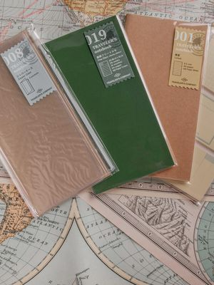Traveler's Notebook TAD Edition Expansion Kit