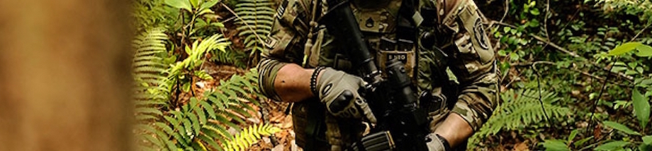 The MultiCam® pattern was developed to effectively limit the visual and near-IR signature of a person operating across a very wide range of physical environments and seasons. After many successful evaluations, after being proven in combat, and after becoming the officially issued pattern of the US Army for all Afghanistan operations in 2010, MultiCam® is the proven multi-environment concealment solution. http://multicampattern.com/multicam_patterns/